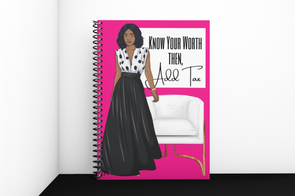 Know Your Worth Lined Notebook