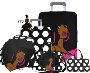 Afro Diva Polka Dot  5 pc Bundle Set