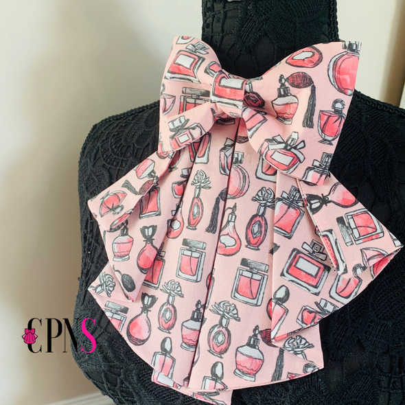 Pink Perfume Bottles Signature Bow