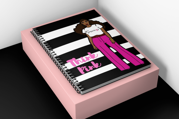 SALE NOTEBOOK - THINK PINK