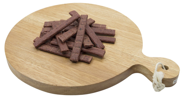 Dog Snack - Delicious Tender & Healthy Trick Or Snacks Beef Tomato Flavored Jerky