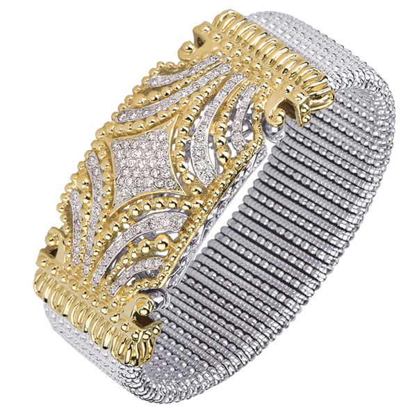 """Make a Bold Statement"" Diamond Bracelet by Vahan"