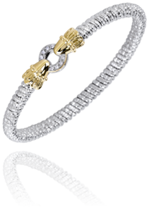 Single Diamond Circle Bracelet by Vahan