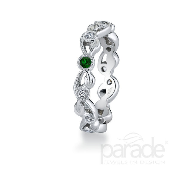 Lyria La Mere Stackable Birthstone Eternity Rings by Parade Designs