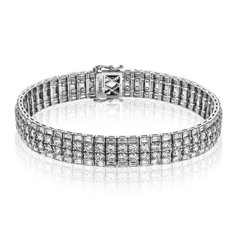 Bold & Modern Diamond Bracelet by Simon G