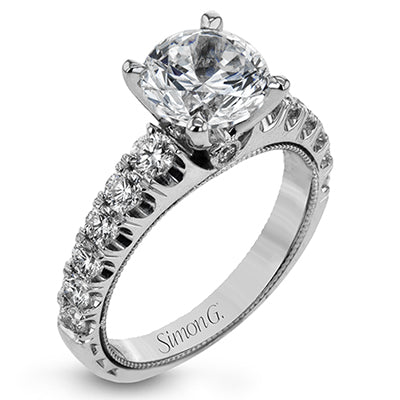 Classic Diamond Engagement Ring by Simon G
