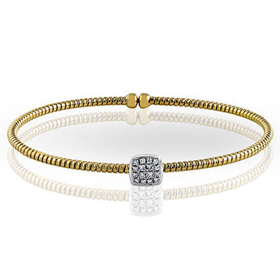 18k Gold Diamond Bracelet by Simon G