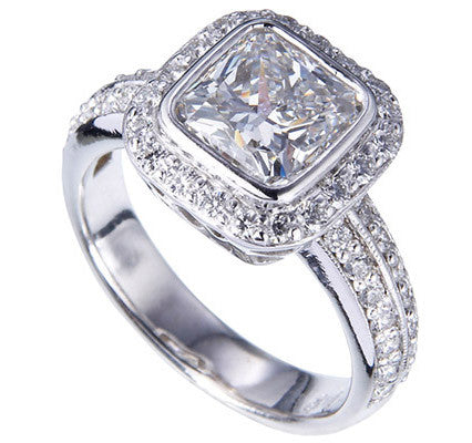 Beautiful Custom Designed Diamond Ring by Teels Jewelry