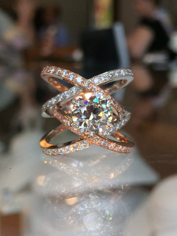 Awesome Custom Wedding Ring by Teel's Jewelry