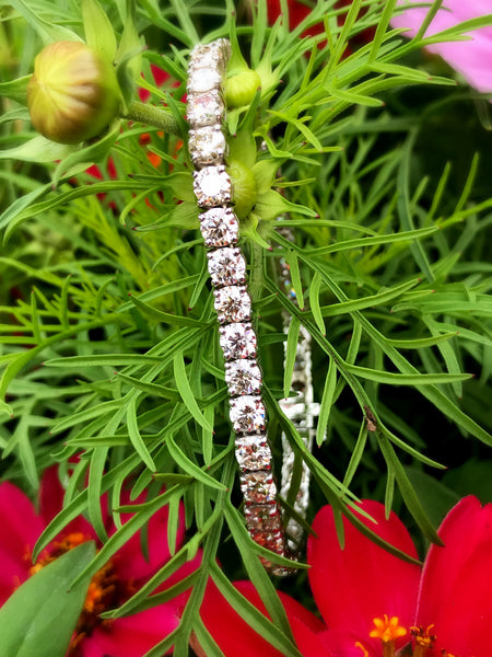 Diamond Line Bracelets at Teel's Jewelry