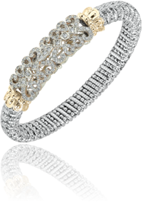 Fabulous Diamond Scroll Bracelet by Vahan