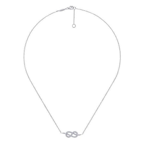 """Love Knot"" Necklace by Gabriel & Co"
