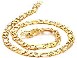 Fancy Link Heavy Men's Gold Neckchain featured by Teels Jewelry