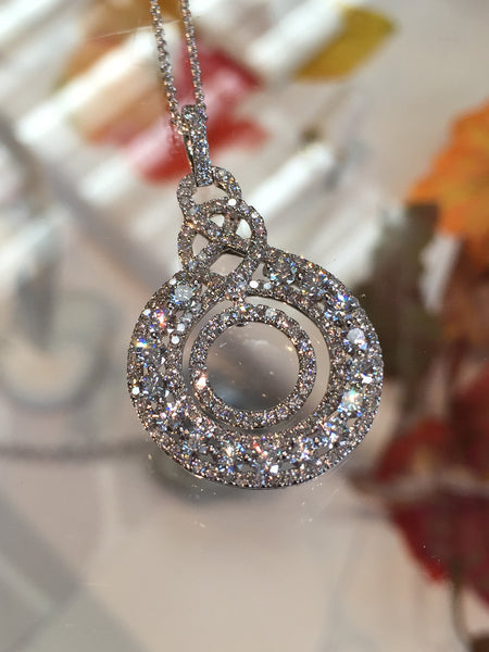 "The ""New"" Circle of Life Pendant featured at Teels Jewelry"