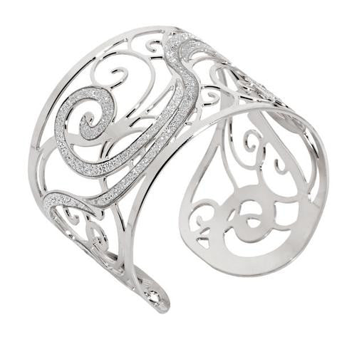 Whimsical Swirl Cuff by Boccadamo