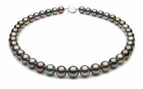 Gorgeous Single Strand of Tahitian Pearls featured by Teels Jewelry