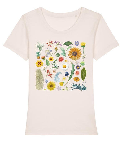 Botanical Women's T-shirt Vintage