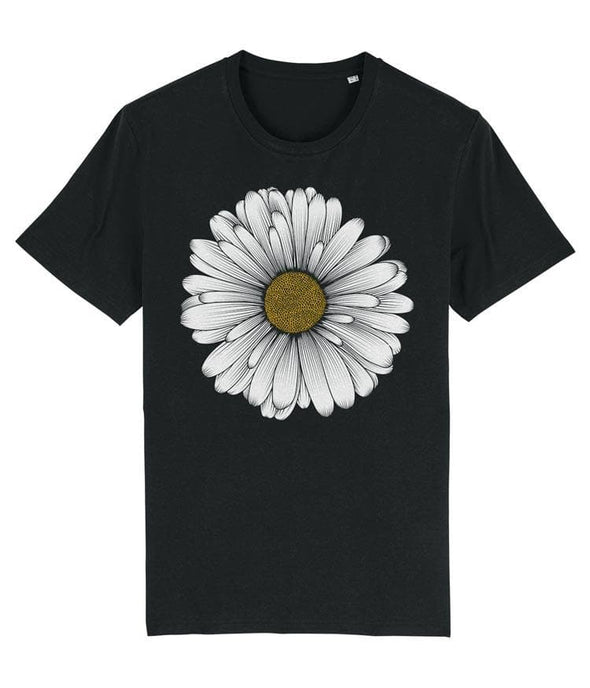 Daisy Men's T-shirt Black