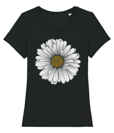 Daisy Women's T-shirt Black