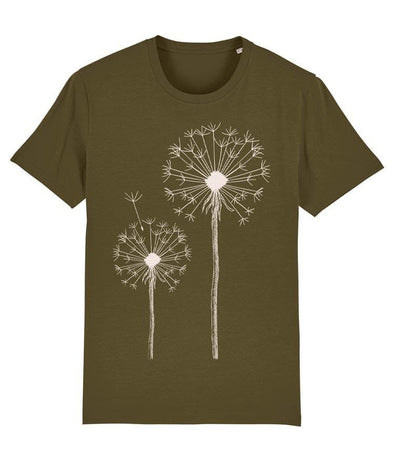 Dandelion Men's T-shirt Khaki