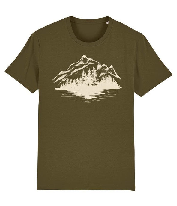 Forest and Mountain Men's T-shirt Khaki