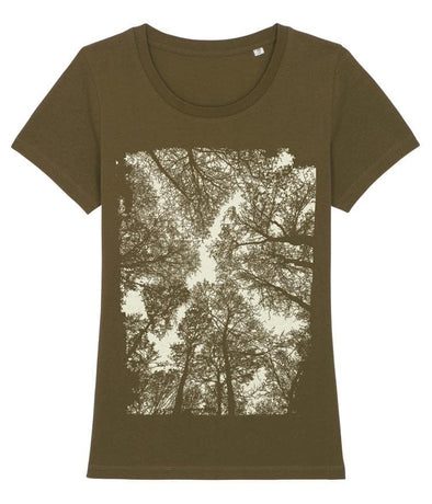 Forest Women's T-shirt Khaki