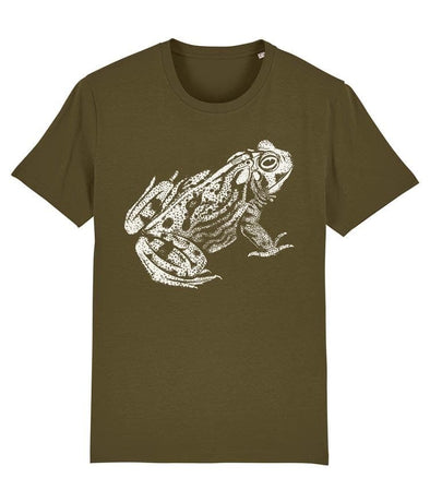 Frog Men's T-shirt Khaki