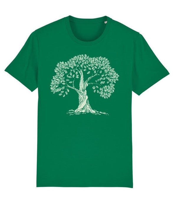 Gnarled Tree Men's T-shirt Green