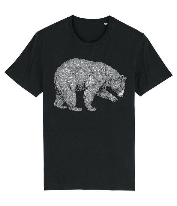 Grizzly Bear Men's T-shirt Black