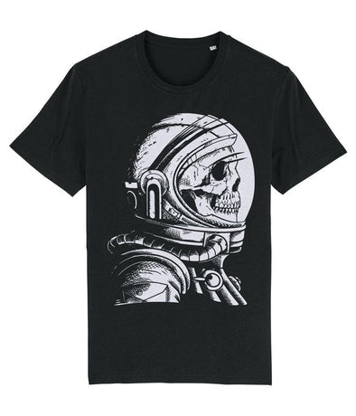 Skull Astronaut Men's T-shirt Black
