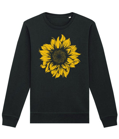 Sunflower Sweatshirt Women's Black