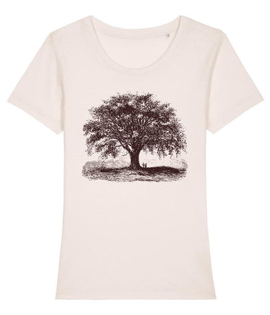 Vintage Tree Women's T-shirt Vintage White