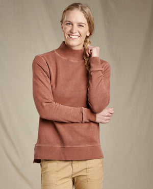 Toad & Co - Womens Mock Pullover - metro hemp supply