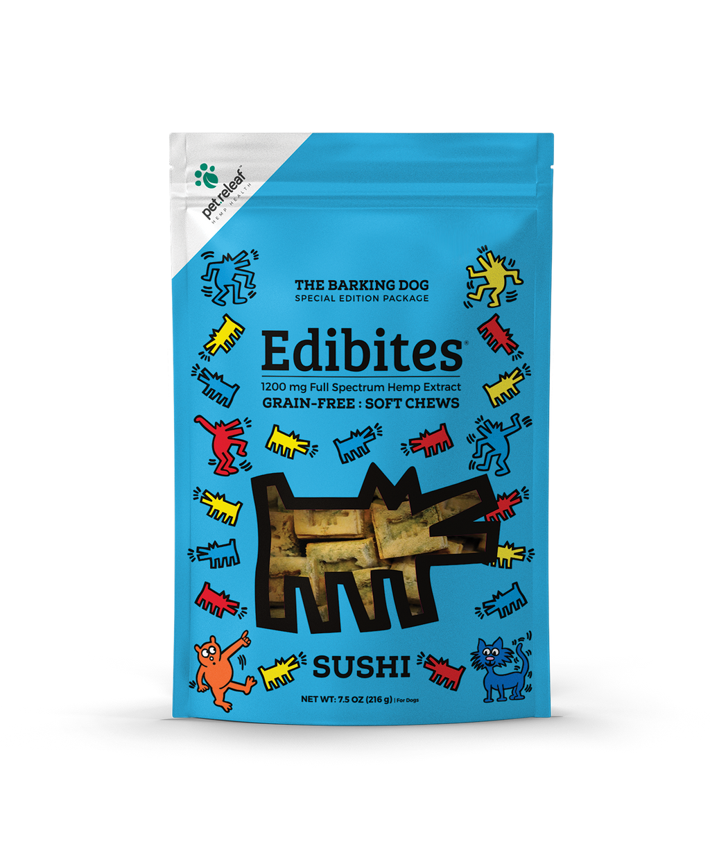 Pet Releaf - Keith Haring Edibites - Sushi - metro hemp supply