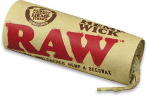 Raw Hemp Wick - 20ft - metro hemp supply