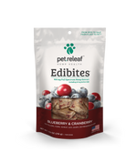 Pet Releaf - Edibites - Blueberry & Cranberry - metro hemp supply