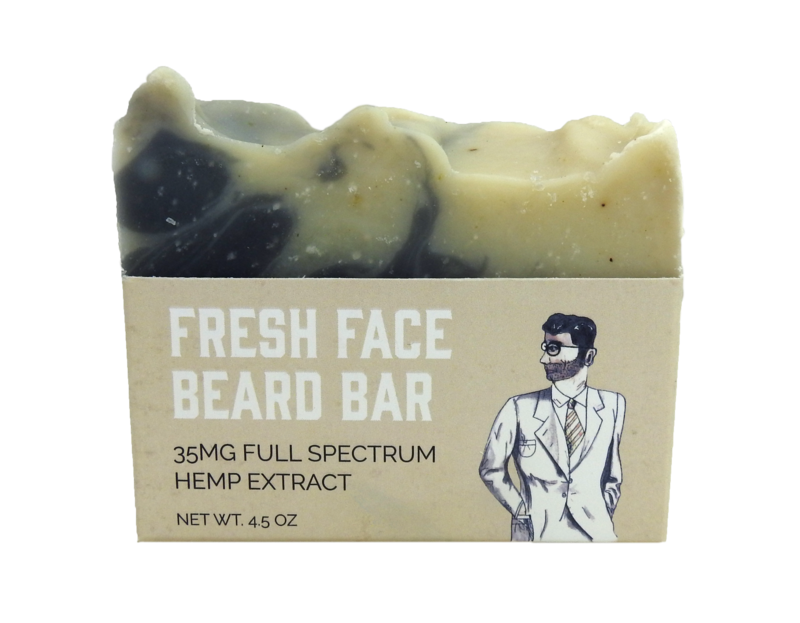 WholeMade Fresh Face Beard Bar - metro hemp supply