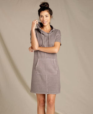 Toad & Co - Womens Shirt Sleeve Dress - metro hemp supply