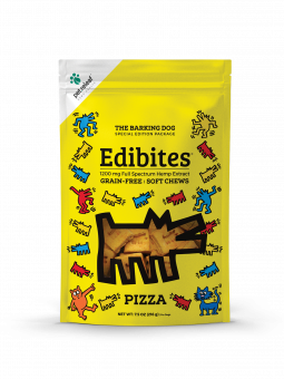 Pet Releaf - Keith Haring Edibites - Pizza - metro hemp supply