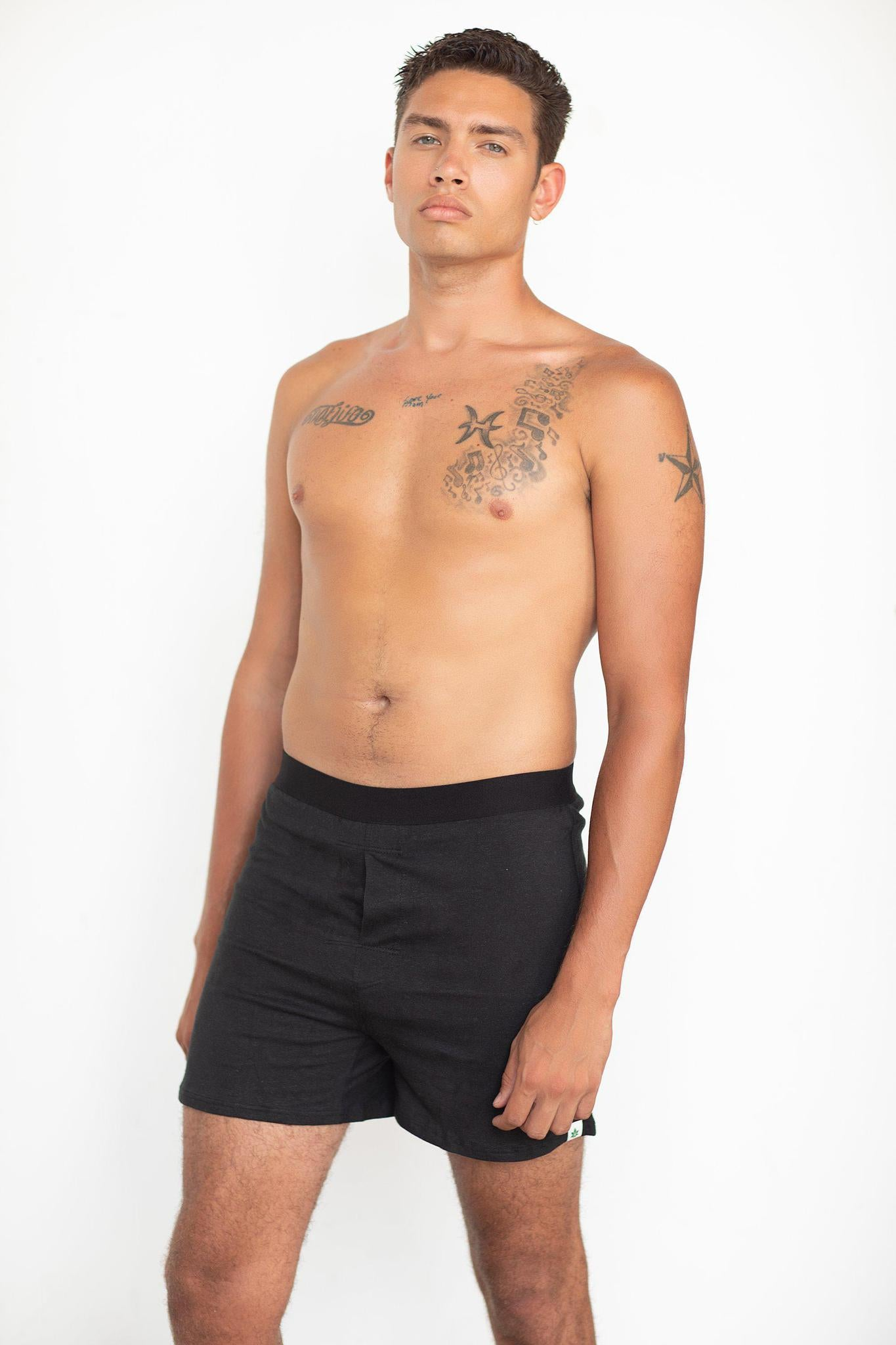 WAMA M BOXER BLK - metro hemp supply