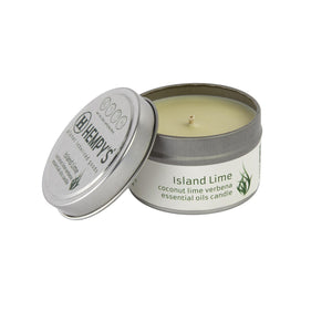 Hempy's Candle – Island Lime - metro hemp supply