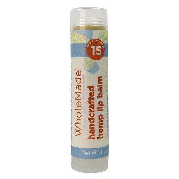WholeMade Buttercream Hemp Lip Balm - metro hemp supply