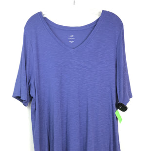 Primary Photo - BRAND: J JILL STYLE: TUNIC SHORT SLEEVE COLOR: PURPLE SIZE: XL SKU: 164-164180-2331