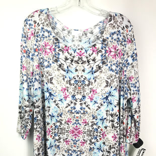 Primary Photo - BRAND: J JILL STYLE: TOP LONG SLEEVE COLOR: FLORAL SIZE: XL SKU: 164-164180-2337