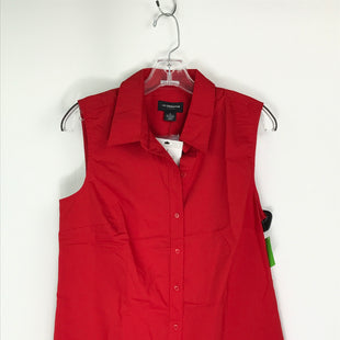 Primary Photo - BRAND: LIZ CLAIBORNE STYLE: TOP SLEEVELESS COLOR: RED SIZE: M OTHER INFO: NEW! SKU: 164-164185-934