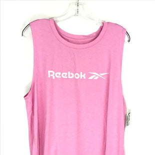 Primary Photo - BRAND: REEBOK STYLE: ATHLETIC TANK TOP COLOR: PINK SIZE: XL SKU: 164-164175-5290