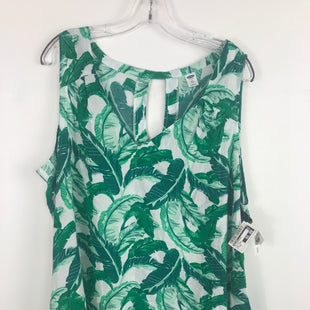 Primary Photo - BRAND: OLD NAVY STYLE: TOP SLEEVELESS COLOR: TROPICAL SIZE: XXL OTHER INFO: NEW!  GREEN SKU: 164-164183-1291