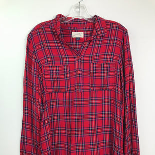Primary Photo - BRAND: UNIVERSAL THREAD STYLE: TOP LONG SLEEVE COLOR: PLAID SIZE: M SKU: 164-164180-2402