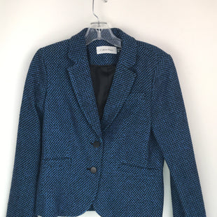 Primary Photo - BRAND: CALVIN KLEIN STYLE: BLAZER JACKET COLOR: BLUE SIZE: PETITE  MEDIUM OTHER INFO: 8 PETITE SKU: 164-164183-1631