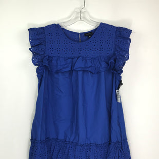 Primary Photo - BRAND: WHO WHAT WEAR STYLE: DRESS SHORT SLEEVELESS COLOR: ROYAL BLUE SIZE: XL SKU: 164-164196-555